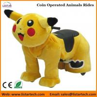Best Pokemon Coin Operated Battery Animals Electric Ride on Motorized Animals for mall wholesale