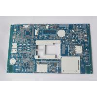 Best Custom PCB circuit board manufacturer PCB Assembly Prototype Blue soldmask white silkscreen wholesale
