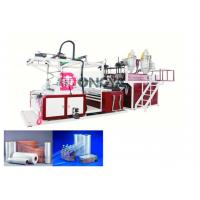 Best Fast Speed Automatic Stretch Film Rewinding Machine / Cling Film Extruder 600 - 1000mm Width wholesale
