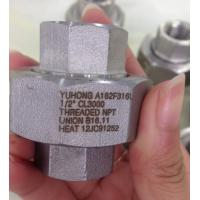 """Best Stainless Steel Forged Fitting , A182 F304L , F316L , ASME B16.11,NPT,SW , 90°ELOW , 3000# , 6000# , 1/2"""" wholesale"""
