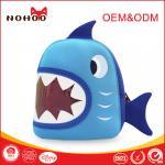 Best Crazy Shark Design Children School Backpack Personalized Child Bags Durable wholesale