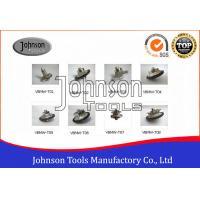 Best Vacuum Brazed Bullnose Hand Profile Wheel , Diamond Profile Wheels Higher Efficiency wholesale