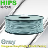 Cheap HIPS 3D Printer Filament 1.75 / 3.0mm  , Material for 3d printing Markerbot , RepRap for sale