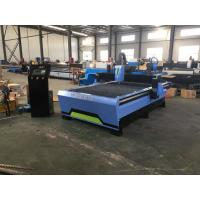 Buy cheap CNC Plasma Cutting Machine , Hydraulic Shearing Machine With Stable Cutting from wholesalers
