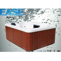 details of square acrylic whirlpool massage outdoor hydro hot tub for 3 4 adults oem odm. Black Bedroom Furniture Sets. Home Design Ideas
