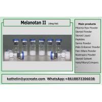 Best MT-2 / MT2 Raw Human Growth Peptides Powder Melanotan II For Sexual Impotence / Tanning wholesale