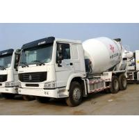 Cheap SINOTRUK HOWO 6X4 White Concrete Mixer Trucks for sale