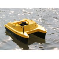 Buy cheap DEVC-303 yellow bait boat fish finder DEVICT fishing robot with GPS from wholesalers