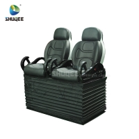 Best 24 Seats 5D Theater System With Electric Motion 5D Chair Play Roller Coaster Film In Mall wholesale
