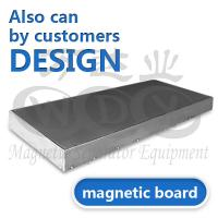 Best High Performance Stainless Steel Magnetic Board For Electromagnetic Separator wholesale
