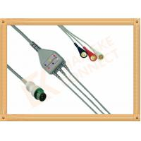 Best Mindray ECG Patient Cable 12 Pin For T5 and T8 3 Leads Snap AHA wholesale