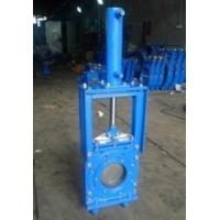 Quality 16 Bar Closed Working Pressure Knife Cast Steel Gate Valve By Heavy Duty wholesale