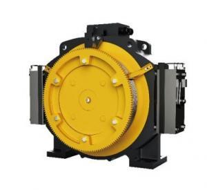 Best Passenger Elevator Motor Machine , 1.0 - 1.75m/S Gearless Traction Machine wholesale