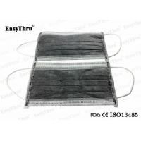 Best 4ply Non Woven Medical Breathing Mask , Active Carbon Filter Surgical Hospital Face Mask wholesale