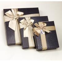Best Brown Square Jewelry Gift Boxes , Cardboard Gift Jewelry Boxes For Women wholesale