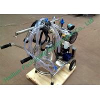 China Hand Operated Mobile Milking Machine Household Cows Milking on sale
