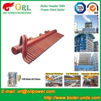 Best High Pressure CFB Boiler Header Steam Boiler Header with ASME wholesale