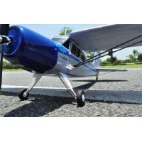Cheap 2.4Ghz Battery Powered Brushless 4ch RC Airplanes Yak-12 with Steering Tail Wheel for sale