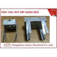 Best Hot Dip Finish GI Electrical Gang Box / Gang Electrical Box 3 inch by 3 inch wholesale