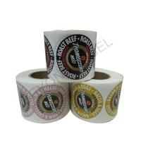 Best Self Adhesive Kiss Cut Labels Roll Customized For Food Packaging wholesale
