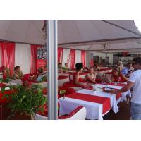 Best 6x6m Chinese Hat Gazebo Aluminum Pvc Pogoda Tent With Clear Span For Outdoor Event wholesale