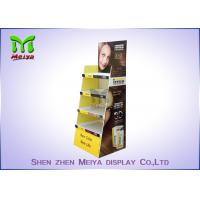 Cheap Eco Promotion Advertisement Display Stands , Cardboard Store Display For Shampoo for sale