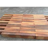 Best High Strength Solid Clay Bricks , Perforated Brick Wall For Contribution Size 500 x 90 x 40 mm wholesale