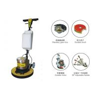 Best Multifunction Handheld Single Disc Floor Scrubber / wooden , tile , granite floor grinder wholesale