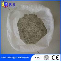 Buy cheap CA 80 Castable Refractory Cement Used in Machinery Processing , High Thermal Stability from wholesalers