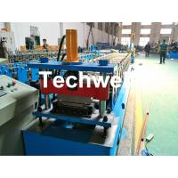 Best Aluminium , PPGI Standing Seam Cold Roll Forming Machine With Hydraulic Cutting Type wholesale