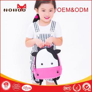 Best Shockproof Kids Zoo Animal Travel Kids Hiking Backpacks Cute Cow Style Mini School Bag Backpack wholesale