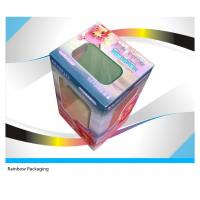 Best Fancy Cake Paper Packaging Boxes Recycled With Transparent Window wholesale