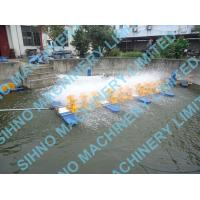 Cheap 10 Impellers Long Arm Diesel Engine Paddle Wheel Aerator,Multi-impellers aerator for sale
