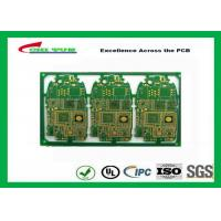 Best HDI 6L FR4 1mm Immersion Gold PCB Engineering for Cell Phone / Mobile Phone wholesale