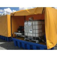 Best Heavy Duty IBC Spill Containment Drum Platform For Oil Drum / Chemical Drum wholesale