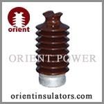 China Brown color porcelain line post insulator on sale