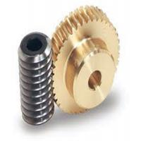 China One Thread Steel Screw Shafts Spiral Bevel Gear Brass Worm Gears For Motors on sale