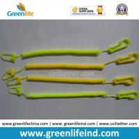 Best Light Weight Slim Coiled Cheap Bungee Cord for Connecting Function Yellow color wholesale