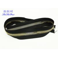 Best Continuous Long Chain Zipper By Yard 10# 12# Big Euro Teeth For Bags And Garments wholesale