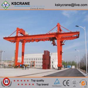 Cheap A-type 5-50t/10t Double Beam Hook Gantry Crane, Portal Crane Features for sale