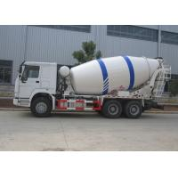 Best Sinotruk HOWO 10M3 Ready Mix Truck , 10CBM Self Loading Mixer Truck With Mixer Drum wholesale