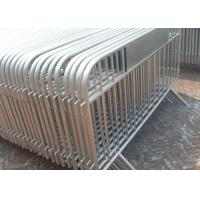 Best Galvanized Crowd Control Panel 25MM OD Out Frame Pipe With Custom Logo wholesale