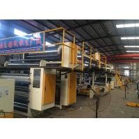 China Steam Heating 5 Ply Corrugated Paperboard Production Line With 1600mm Effective Width on sale
