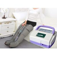 Cheap Sequential Inflatable Leg Massager , Blood Circulation Long Boot Air Massager for sale