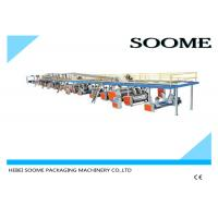 China Professional Precision Corrugated Box Production Line 3 Layers 1800 Mm on sale