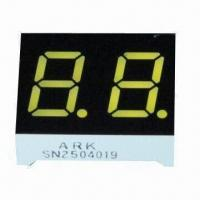 Best Seven Segment LED Numeric Display in Dual-digit with Yellow/Amber, 0.40-inch Digit Height wholesale