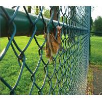 Best 40*40MM Dark Green PVC Coated Chain Link Fence for Playground wholesale