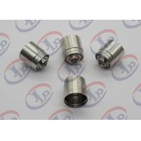 Best SGS 304 SST Joint CNC Machining Parts with 1/4-42 UNS-2 Internal Thread wholesale