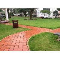 Best Outdoor Clay Paving Brick , Solid Interlocking Brick Pavers For Flooring wholesale