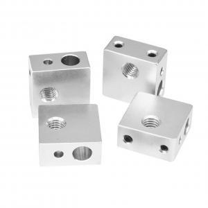Best 7.8g Aluminium MK7 MK8 3D Printer Heater Block 20mm*20mm*10mm wholesale